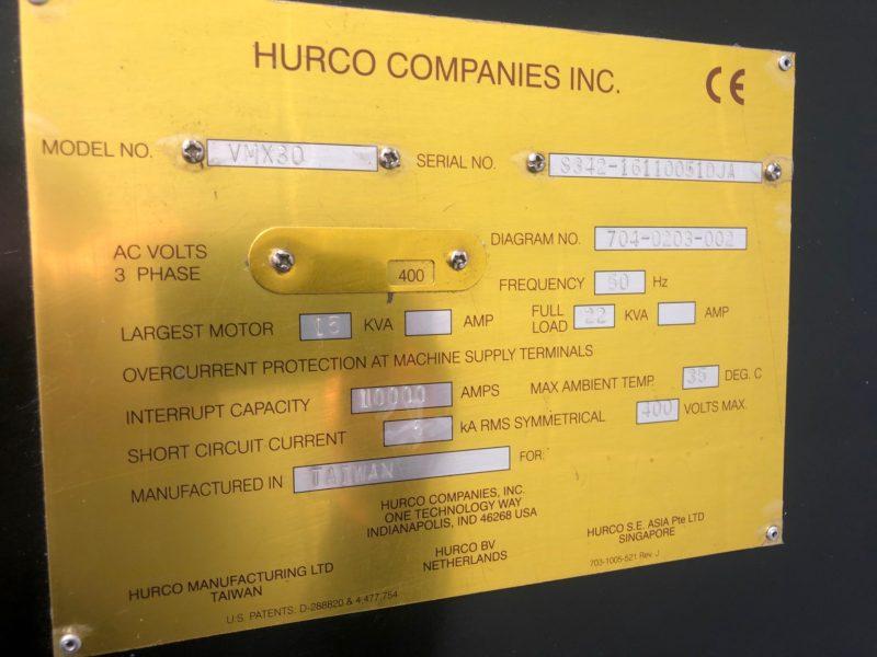 HurcoVMX30mc